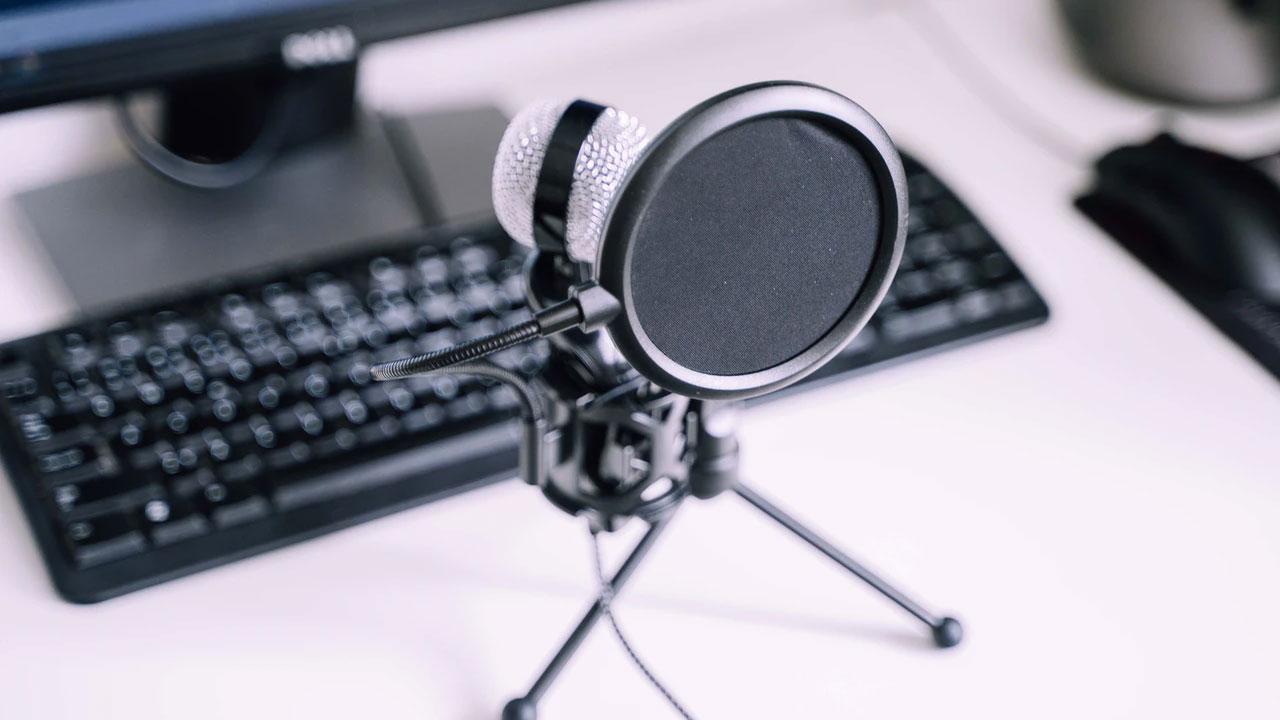 Микрофон для подкаста
