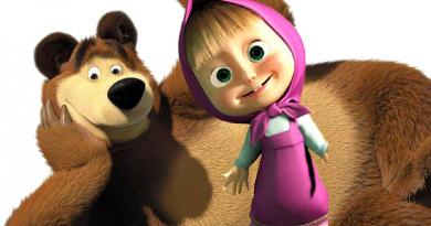 Сценарий мультфильма Маша и Медведь