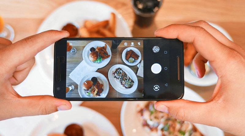 Еда в Instagram